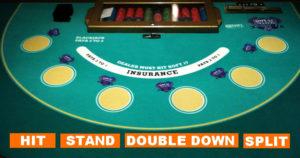 Die Regeln an einem Blackjack Tisch