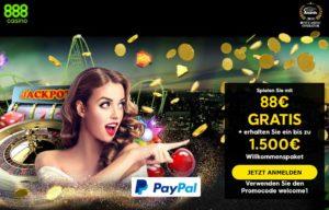 Online casino Bonus 888 kostenlos
