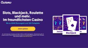 Online Casino Bonus Casumo Freispiele